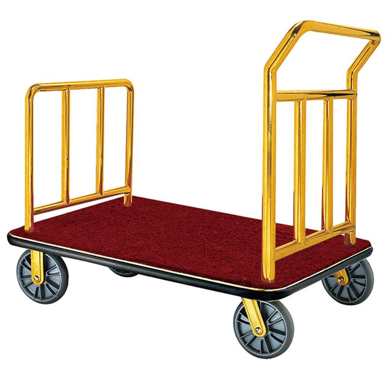 بارو عربة الأمتعة الألمنيوم الفندق