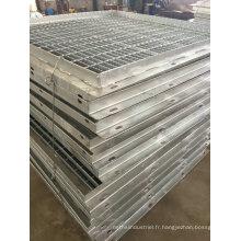 Fabrication en métal d'OEM et pièces de soudure pour l'escalier externe de construction