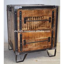 Industrial Loft Rustic Drawer Cabinet