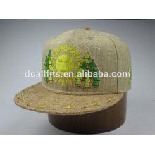 6panel mit emboridery montiert bucker snapback cap in china gemacht