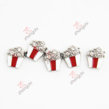 Dimond Popcorn Cute Charms for Living Locket (FC)