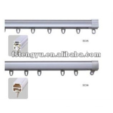 home use plastic shower curtain rail from china