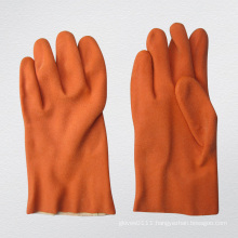 13G Terry Cloth Liner PVC Coated Glove-5132