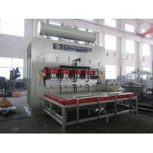 Wuxi qiangtongYX1600T 6 * 9 laminado de la prensa de la melamina para los tableros de los muebles