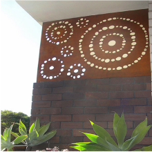Outdoor Laser Cut Screens