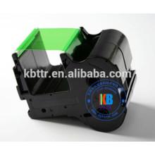 Recurso compatível NTC placa de identificação impressora verde fita 60mm * 130 m PP-RC3GRF para impressora PP-1080RE