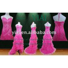 2011 Art und Weise besonders angefertigt Taft-ABEND-Kleid HH0040