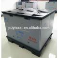 4 способа складная и складная пластичная коробка Паллета/контейнер теги RFID опционально
