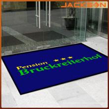 OEM логотип Indoor и напольного использования резиновой подложкой коврик