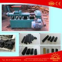 Máquina de extrusión de polvo de carbón de alta conversión