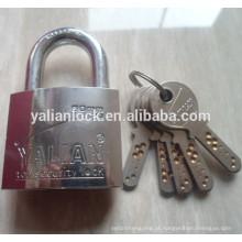 Melhor qualidade latão cilindro rodada chave padlock
