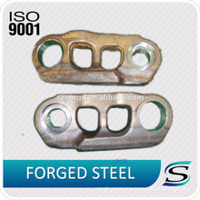 Smooth Excavator Track Chain Link Assembly With Part Number