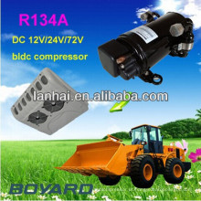 Boyard r134a elétrico carro ac compressor para bateria portátil powered ar condicionado bomba