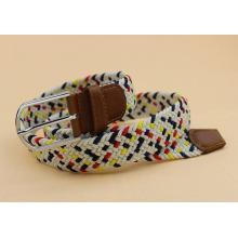 Mens colorful belts Braided belt