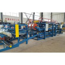 Leading for EPS Sandwich Panel Sheet Roll Forming Machine Color Steel Sheet Sandwich Panel Foming Machine supply to Uganda Manufacturers