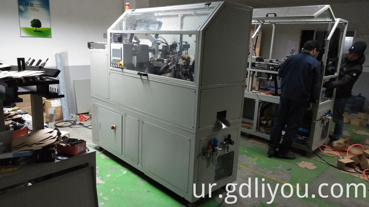 Aircraft box viscose folding machine