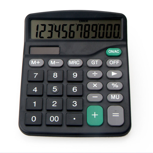 large office dual power calculator
