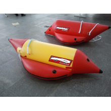 1 Person Individuelles aufblasbares Wasserschlitten-Bananenboot