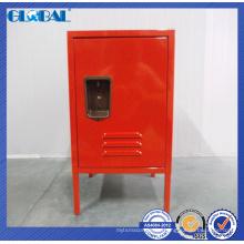 Mini armario de acero para niños de colores para el dormitorio