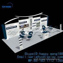 exhibición portable de la cabina de la feria profesional de aluminio, cabina de exhibición del contexto de la exposición aduana