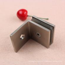 Abrazaderas de puerta de ducha de fundición de pared a vidrio con alta calidad