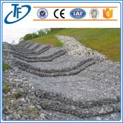 PVC coated galfan wire gabion/Gabion Retaining Wall