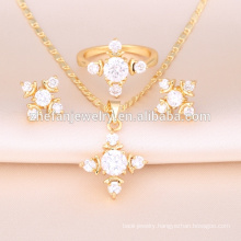 2018 trendy price of 1 carat diamond dubai gold jewelry set companies looking for distributors