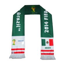 2014 World Cup football fan scarf polyester scarf