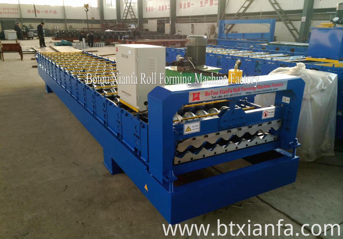 wave roof roll forming machines