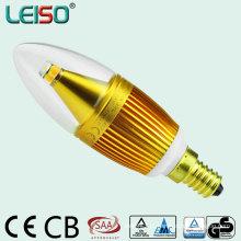 330degree 5W CREE Chip Scob E14 lâmpada de vela de LED (LS-B305-GB)