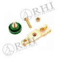 Top post car brass battery terminal clip auto batery terminal