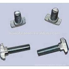 steel T head bolt