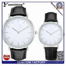 Высокое качество YXL-826 Италии крокодил шаблон кожа пользовательских Корниш бренд часы для мужчин