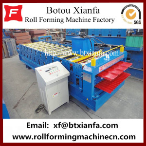 Glazed Iron Sheet Profile Roll Forming Line