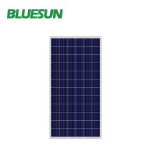 Bluesun 350w polycrystalline solar panel roof for 10kw off grid solar power system home