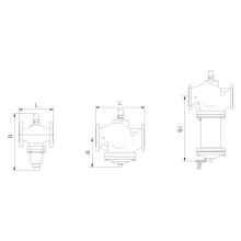 30L01T01Y/R.30L01T02Y/R self-operated flow and temperature control valve