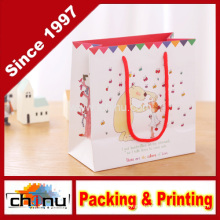 Paper Gift Bag / Art Paper Bag / White Paper Bag (210132)