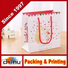 Saco de papel do presente / Saco de papel da arte / Saco de papel branco (210132)