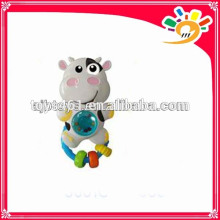 Lovely Baby Series Shaking Hand Bell Toy,Cute Cartoon Cow Design Hand Bell