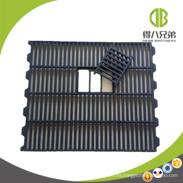 Sistema de piso de cerdo Piso de listón dúctil de alta calidad de la losa de hierro fundido para cerdas / hierro fundido FLoors para el cerdo