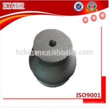 pièces de moulage sous pression en aluminium pour les poteaux de clôture en acier