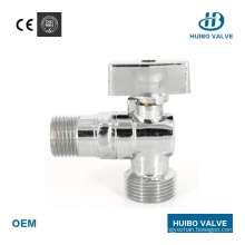 """1/2"""" Inch Brass Male Thread Angle Valve for Water"""