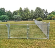 Garden Chain Link Fence Gate