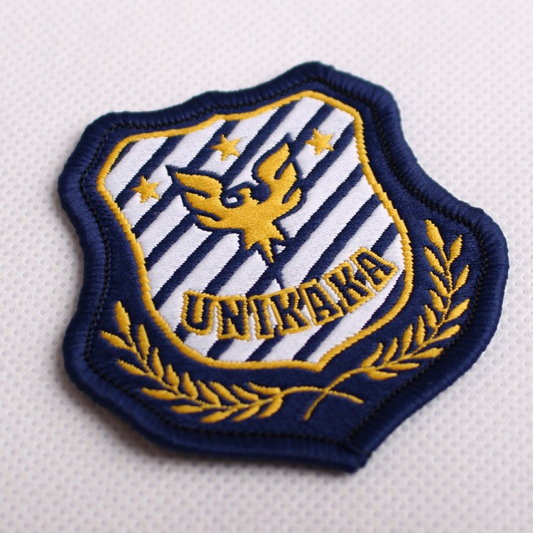 shoulder embroidery patch