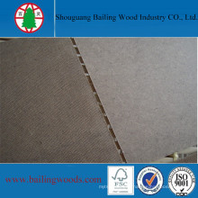 2-4mm Raw Dark Brown Hardboard for Africa Market