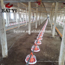 Poultry Farm Chicken Feeding Equipment Broiler Pan Feeder
