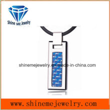 Tungsten Pendant Tungsten Carbon Fiber Inlay Creative Personality Fashion Pendant