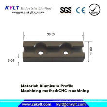 Usinagem de precisão de OEM para perfil de extrusão de alumínio
