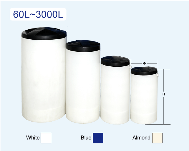 PE Round Brine Tanks specification