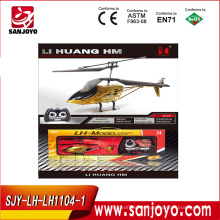 3ch rc helicopters wholesale alloy GOLD fashion appearance